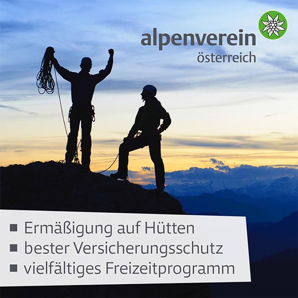 Discounted membership at Alpenverein